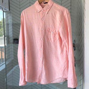 J. Crew ☀️Like new☀️ linen button down shirt